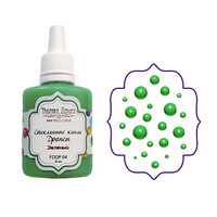 Glass Drops-aine, Green, 30ml