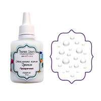 Glass Drops-aine, Clear, 30ml