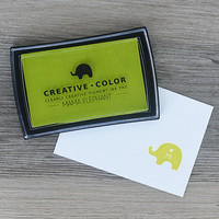 Mama Elephant Creative Color Pigment Ink-leimamuste, Lemongrass