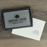 Mama Elephant Creative Color Pigment Ink-leimamuste, Moonlight