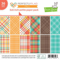Paperikko, 6'x6' Lawn Fawn Perfectly Plaid Fall, 36sivua