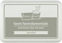 Leimamustetyyny, Lawn Fawn Dye Ink, Narwhal