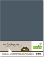 Lawn Fawn - Storm Cloud Cardstock 8,5