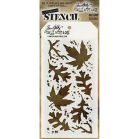 Tim Holtz Layered Stencil, Autumn
