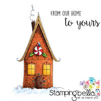 Leimasetti, Stamping Bella, Gingerbread House