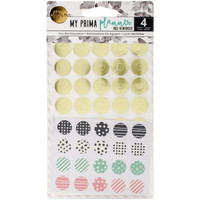 My Prima Planner Hole Reinforcer Stickers, 4arkkia