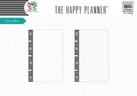 Happy Planner -  MINI paperisetti, 40arkkia