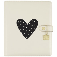 Carpe Diem Heart Black Planner Decal, vinyylitarra