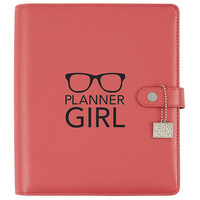 Carpe Diem Planner Girl Black Planner Decal, vinyylitarra