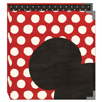 Sn@p! Decorative Binder 6'X8', Say Cheese