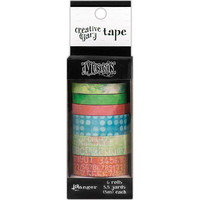 Dyan Reaveley's Dylusions Creative Dyary Tape, 6 rullaa