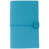 Freckled Fawn Sleek Traveler's Notebook, Rich Teal