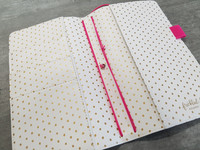 Freckled Fawn Pocket Traveler's Notebook, Pink Bows