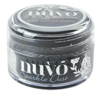 Nuvo Sparkle Dust, Black Magic, 15ml