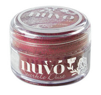 Nuvo Sparkle Dust, Rasberry Bliss, 15ml