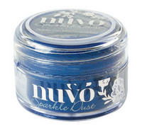 Nuvo Sparkle Dust, Electric Blue, 15ml