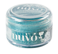 Nuvo Sparkle Dust, Paradise Blue, 15ml