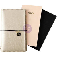 Prima Marketing - Prima Traveler's Journal Standard, Champagne (pakkaus rikki)