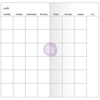 Prima Marketing - Prima Traveler's Journal Notebook Refill, Monthly