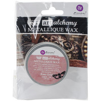 Prima Marketing - Finnabair Art Alchemy Metallique Wax, Rose Gold