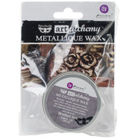 Prima Marketing - Finnabair Art Alchemy Metallique Wax, Brushed Iron