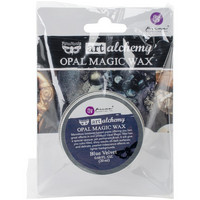 Prima Marketing - Finnabair Art Alchemy Opal Magic Wax, Blue Velvet