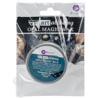Prima Marketing - Finnabair Art Alchemy Opal Magic Wax, Turquoise Satin