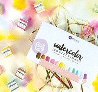 Prima Marketing - Watercolor Confections, Pastel Dreams