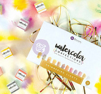 Prima Marketing - Watercolor Confections, Shimmering Lights