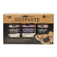 Prima Marketing - Finnabair Art Extravagance Stone Effect Paste Set, 3x100ml