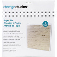 Cropper Hopper - Storage Studios Paper Files, 12''x12'', 3kpl