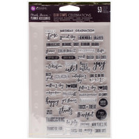 Prima Marketing - My Prima Planner Clear Stamps, Celebrations