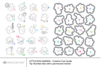 Stanssi, Mama Elephant Creative Cuts, Little Dog Agenda