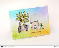 Stanssi, Mama Elephant Creative Cuts, Framed Tags - Chelsea