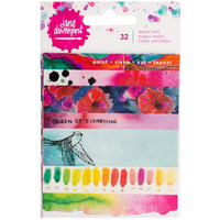 Jane Davenport Mixed Media Washi Tape Book, 5 arkkia