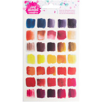 Jane Davenport Mixed Media Rub-Ons, Brights, 2 arkkia