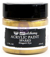 Prima Marketing - Finnabair Art Alchemy Sparks Acrylic, Dragon's Eye