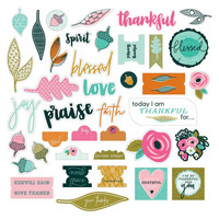 Illustrated Faith - Die-Cuts, Gratitude Documented, 39 osaa