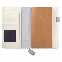 Webster`s Pages Color Crush - Travelers' Notebook, Grey Floral