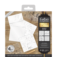 Crafter's Companion Foil Transfers - Bundle of Joy