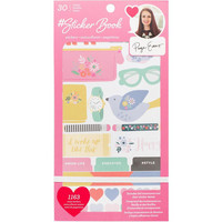 American Crafts - Paige Evans Sticker Book, tarrasetti