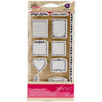 Prima Marketing - Julie Nutting Stamps, Frames