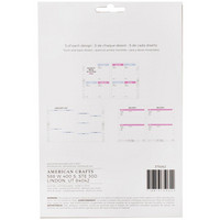 American Crafts - Memory Planner Inserts, Marble Crush Recipe