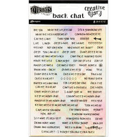 Dyan Reaveley's - Dylusions Dyary Back Chat Stickers