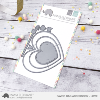 Mama Elephant - Creative Cuts, Love, Favor Bag Accessory, Stanssisetti