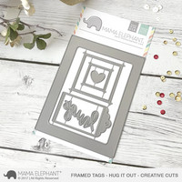 Mama Elephant - Creative Cuts, Hug It Out, Stanssisetti