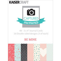 Kaisercraft - Captured Moments Double-Sided Cards, Be Mine, 3