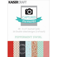 Kaisercraft - Captured Moments Double-Sided Cards, Peppermint Swirl, 3