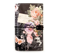 Prima Marketing - Prima Traveler's Journal Personal, Vintage Floral