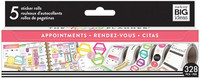 MAMBI - Happy Planner Sticker Roll, Appointments, Tarrasetti
